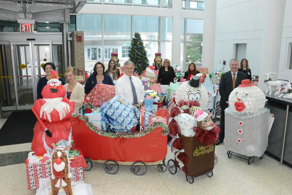 Holiday gift distribution at HUMC