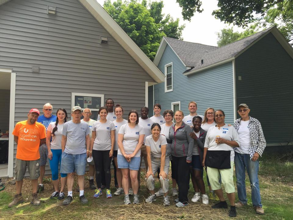 Firm Community Service 2016 - Habitat for Humanity
