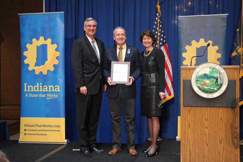 Kimball International Receives Indiana Half-Century Award