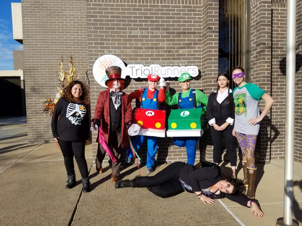 Halloween Fun at Trial Runners!
