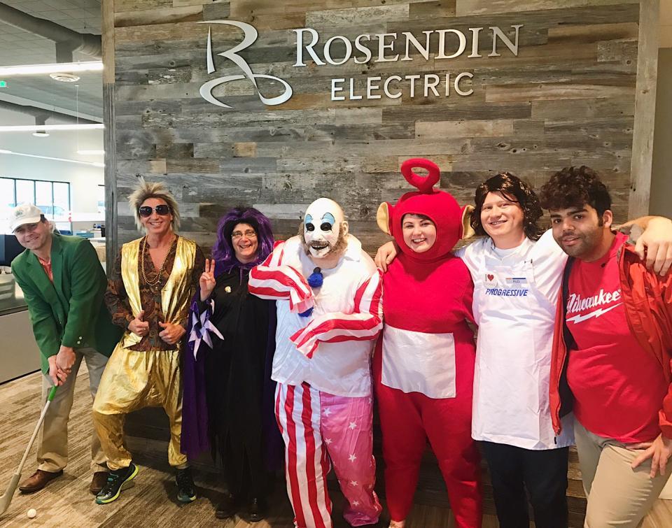 Employee Owners Celebrating Halloween