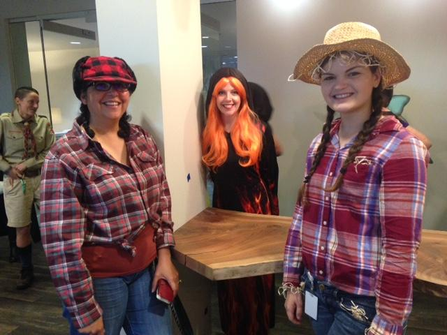 Halloween – Costume Contest fun at the Home Office!