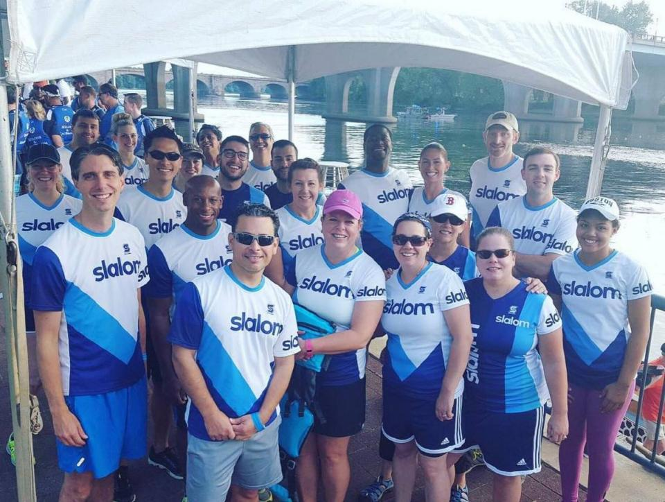 Slalom Dragon boat team