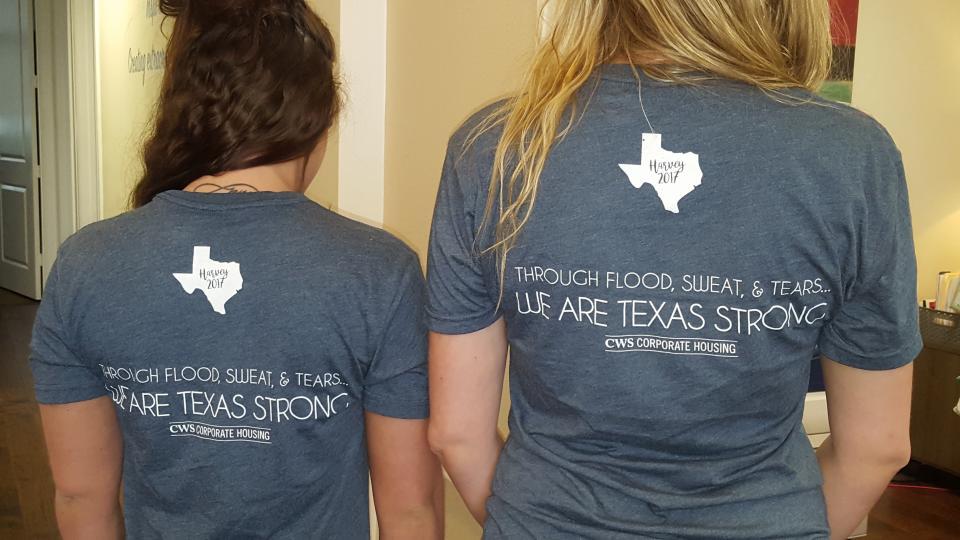 Hurricane Harvey shirts