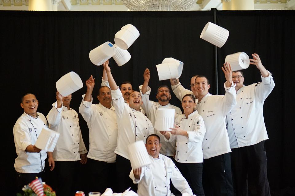 Hats off to our talented chefs!