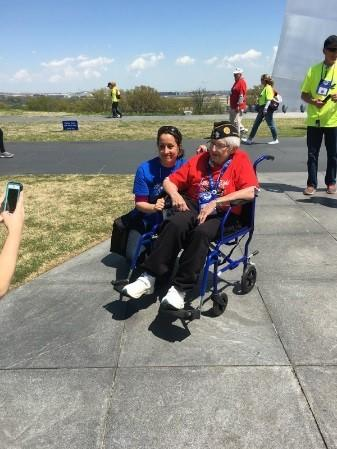 Honor Flight - AXA employees had the privilege of escorting World War II and Korean War Veterans in Washington, DC to visit our national memorials. as part of Mission 11 Syracuse Honor flight.