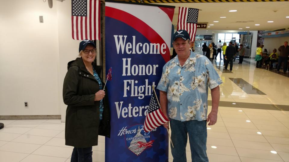 TCGers participating in a Honor Flight Charity Spree.