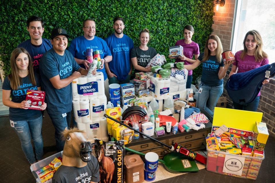 Nextiva Cares Donation Drive for Horses Help