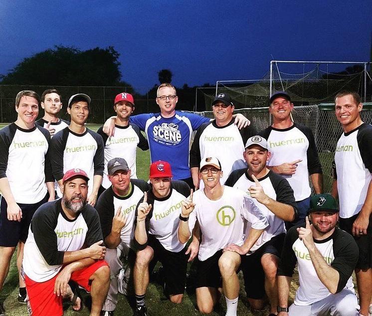 Hueman's softball team