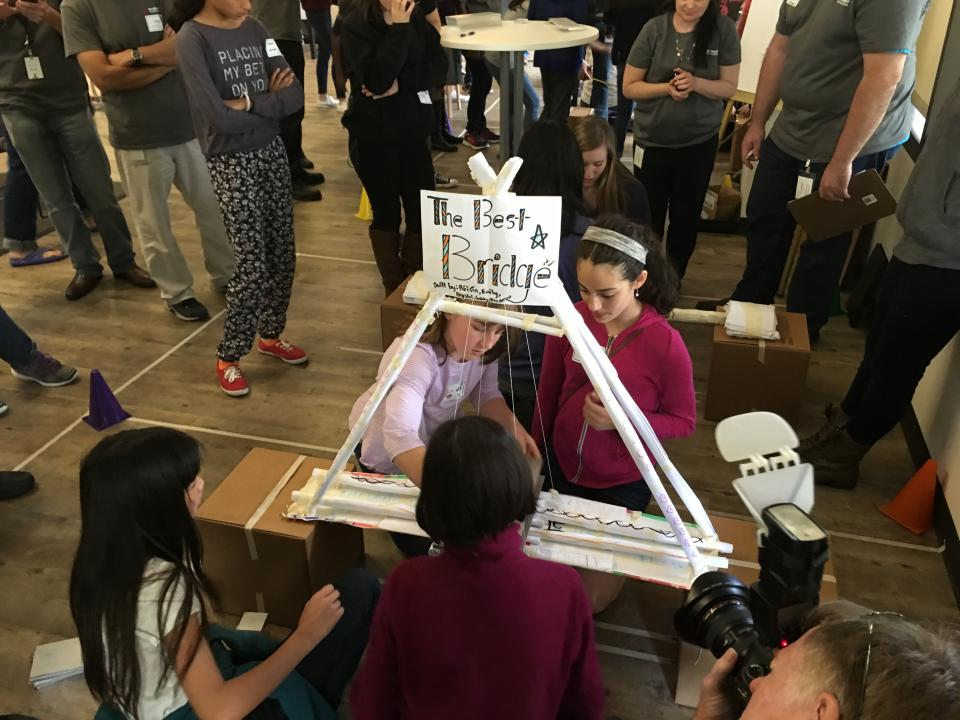 Aspiring young female 'engineers' from the sixth through 12th grades tackle fun science, technology, engineering and mathematics (STEM) challenges in Keysight's annual Introduce a Girl to Engineering Day (IGED).