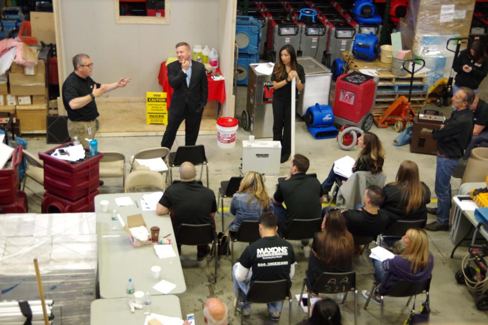 Training in our Warehouse!