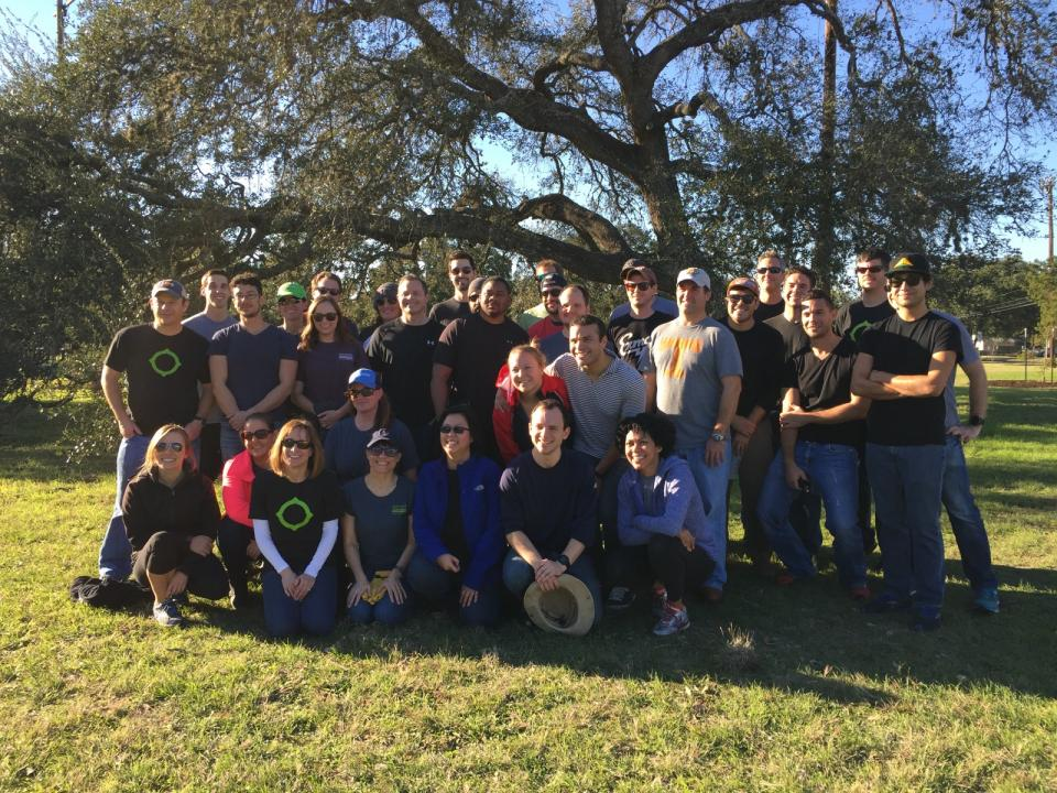 Volunteer Day at Austin Parks Foundation