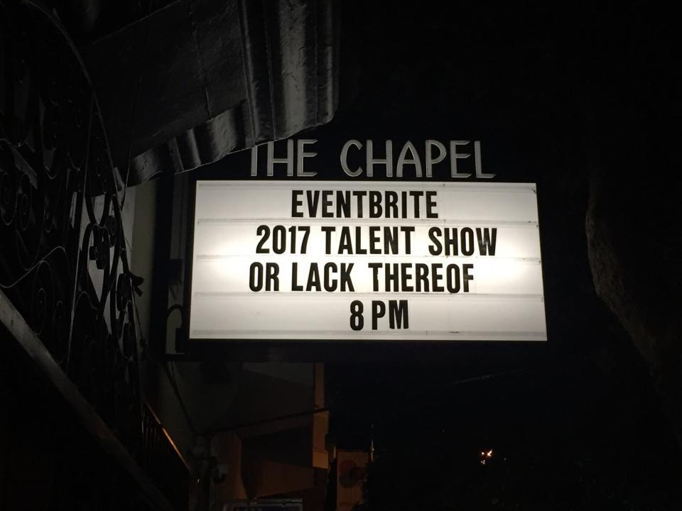 From our 2017 annual talent show