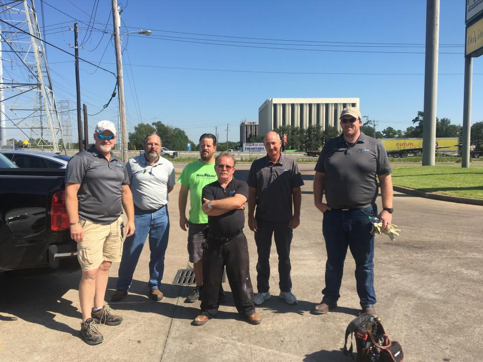 Benco Equipment Support Technicians help with Hurricane Harvey Impacts