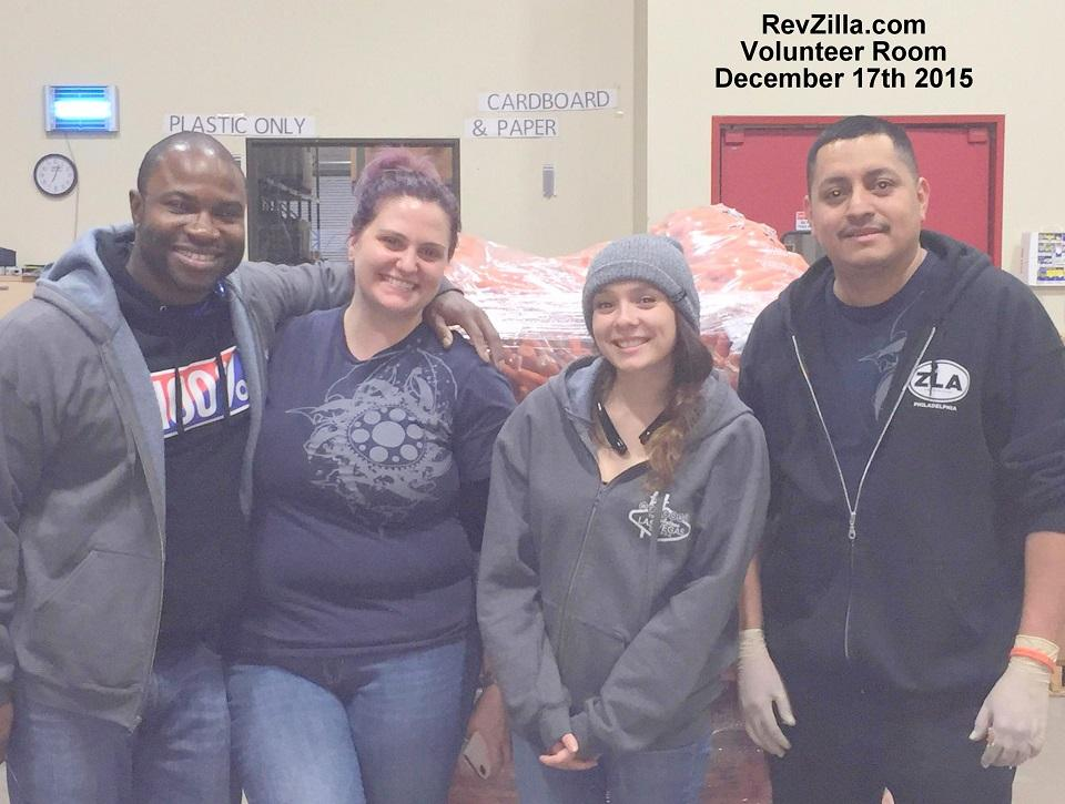 Part of our Las Vegas Fulfillment Team volunteering at Three Square, the local food donation center
