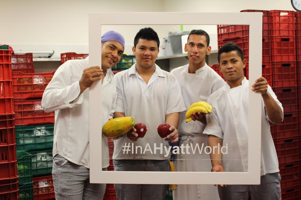 #InAHyattWorld