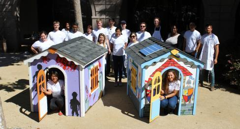 Building playhouses for Habitat for Humanity's Playhouse program