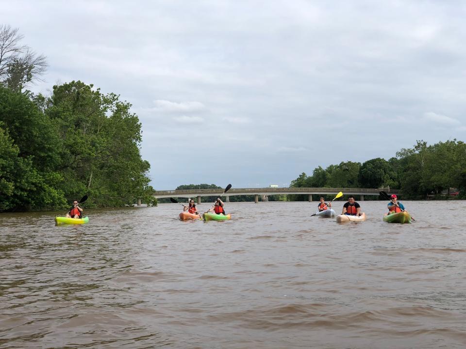 Kayaking on the Potomac River!