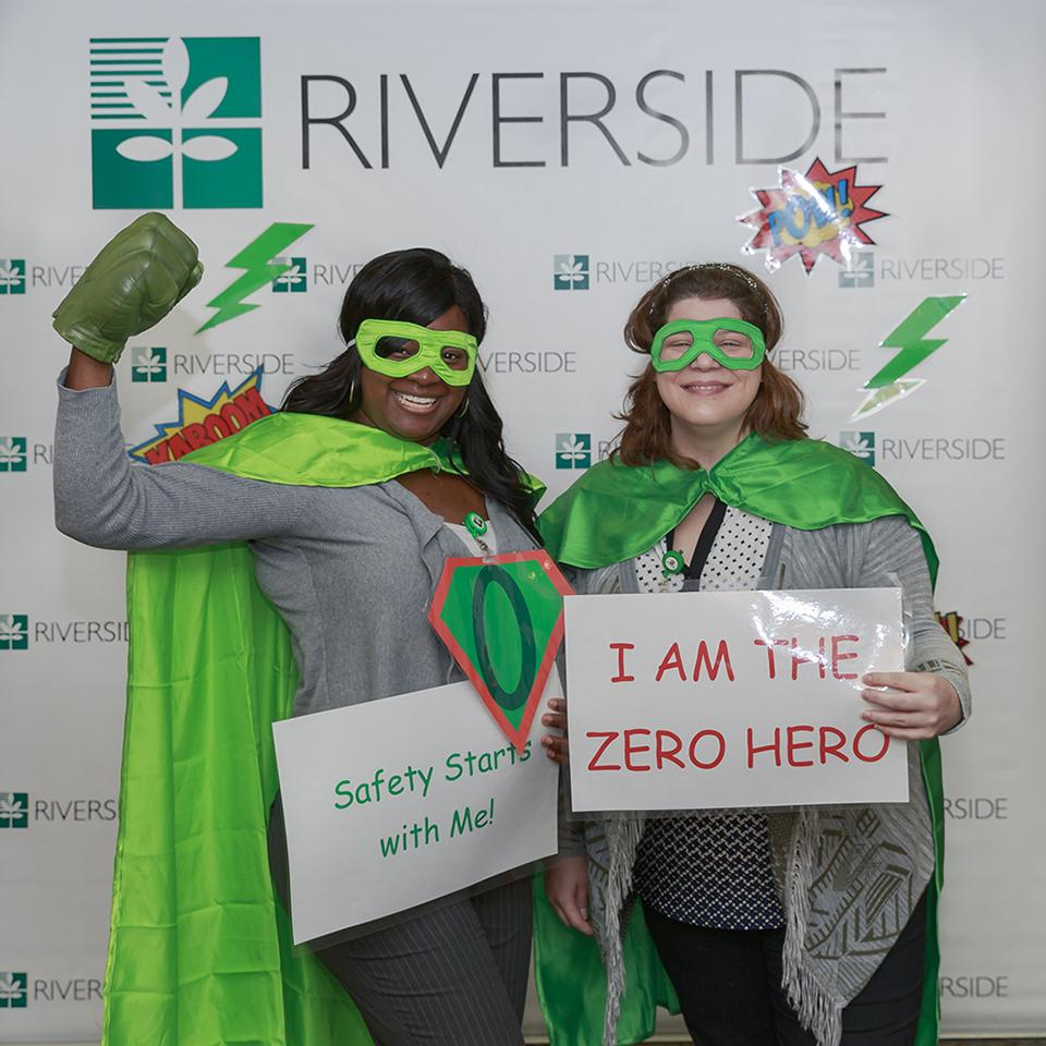 Safety is our core value. Our team members celebrated recently by dressing as patient safety superheroes.