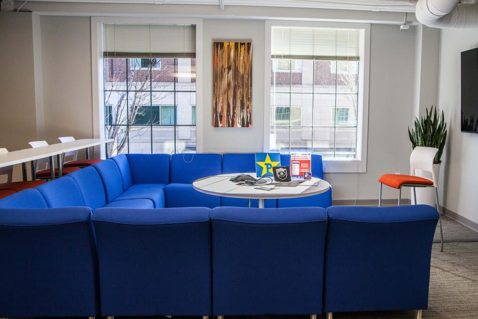 Teleconference Lounge Area