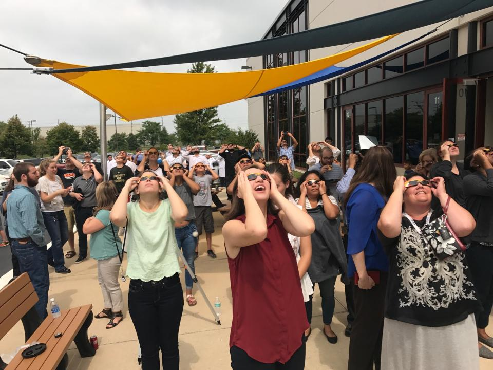 Eclipse Viewing Party