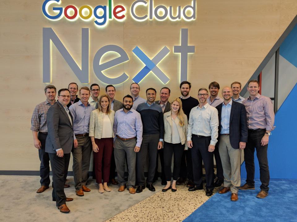 Maven Wave at Google NEXT in San Francisco.