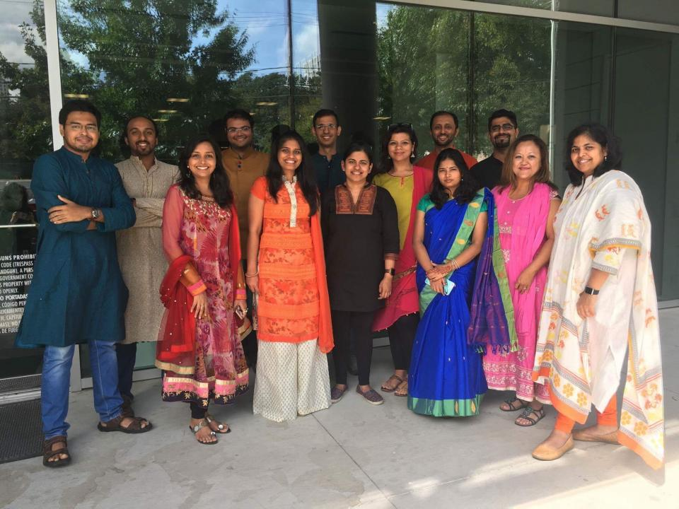 The annual Diwali luncheon for all employees celebrates Indian culture.