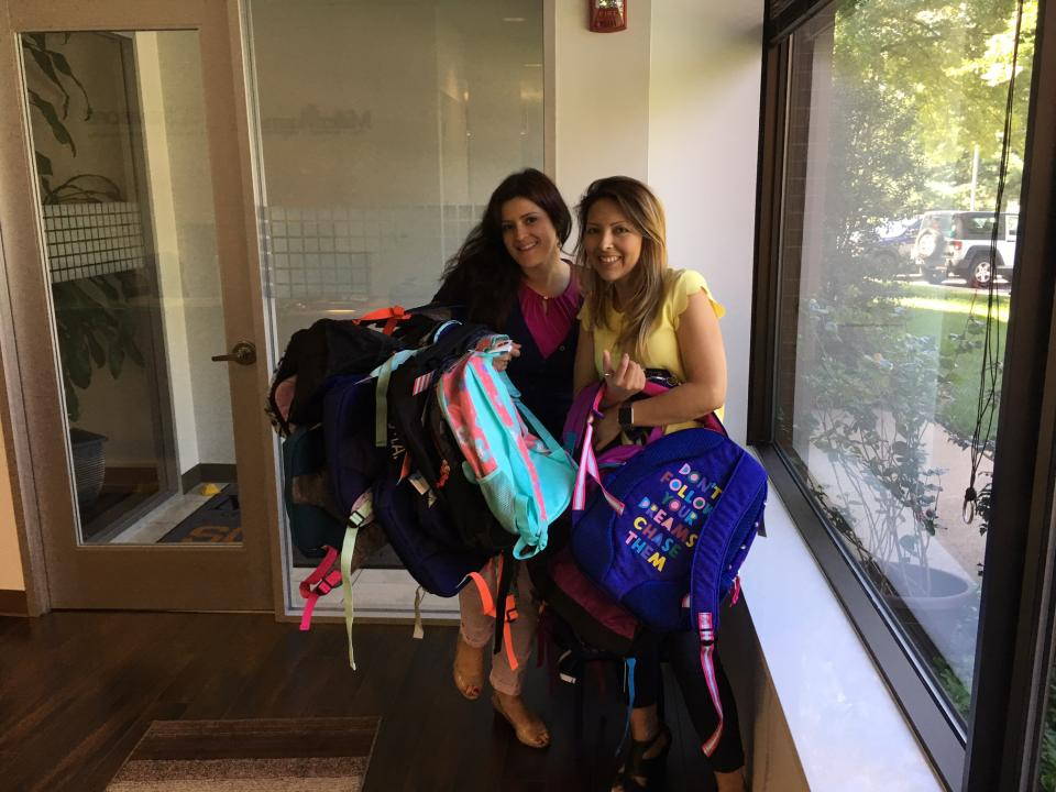 Back to School Backpack Drive for Local Charity