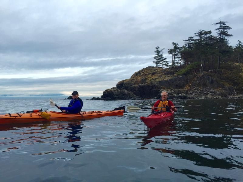 When visiting our Nanaimo, British Columbia office, kayaking is a must!
