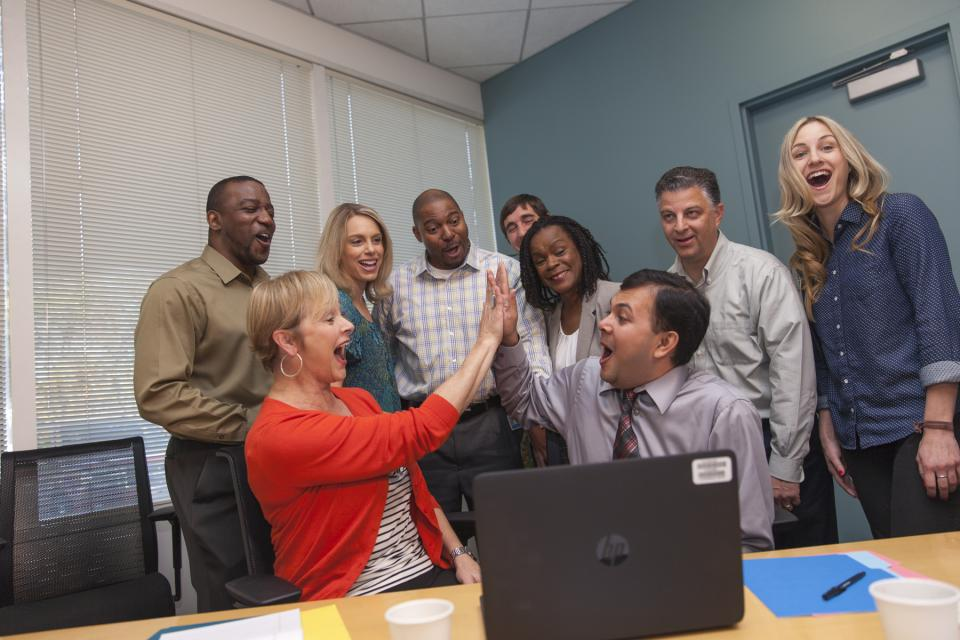 Kaiser Permanente's IT team celebrates another successful product launch