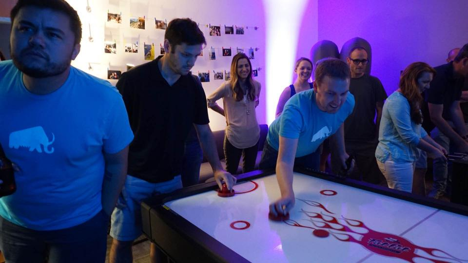 Mammoth Olympics Air Hockey Tournament