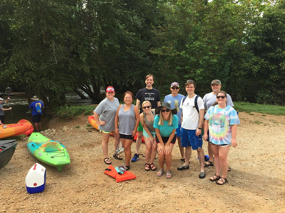 Society of Torch Emerging Professionals Kayak and Canoe Trip