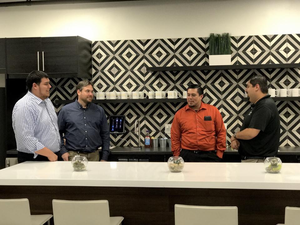 Houston Office Break Room