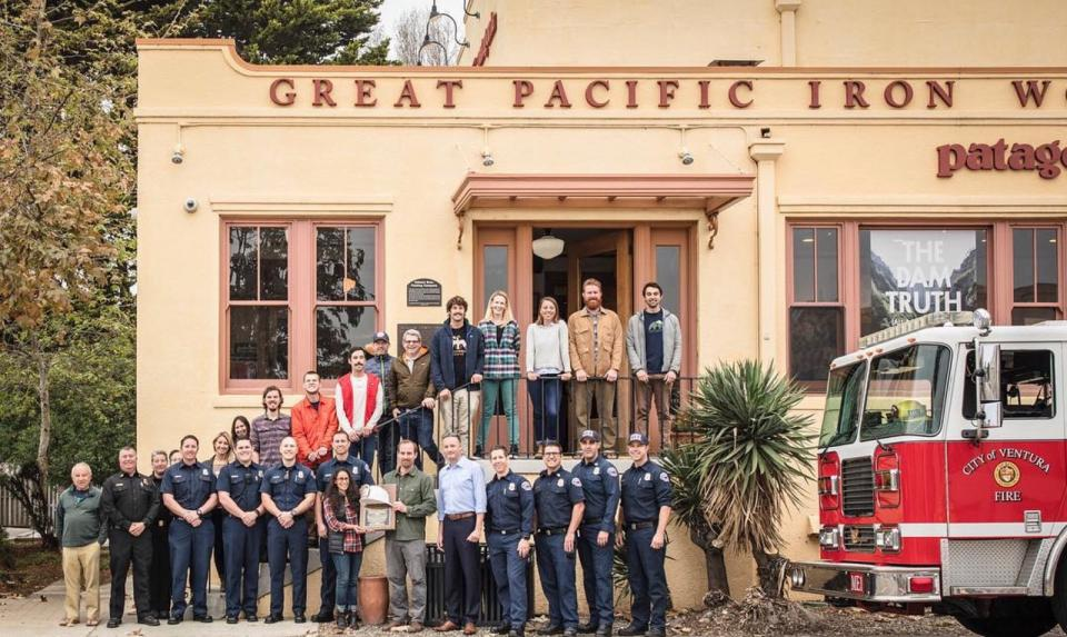 Thomas Fire Firefighters at GPIW