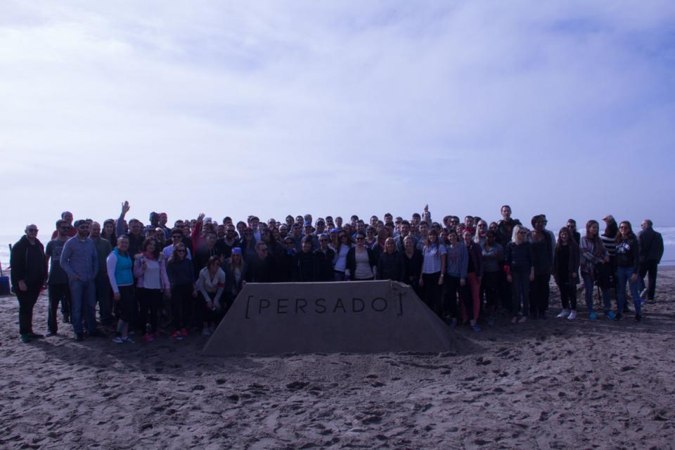 Sandcastle company shot