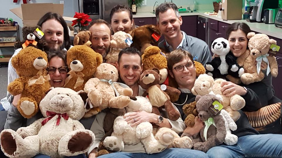Collecting Bears for Children's Hospital