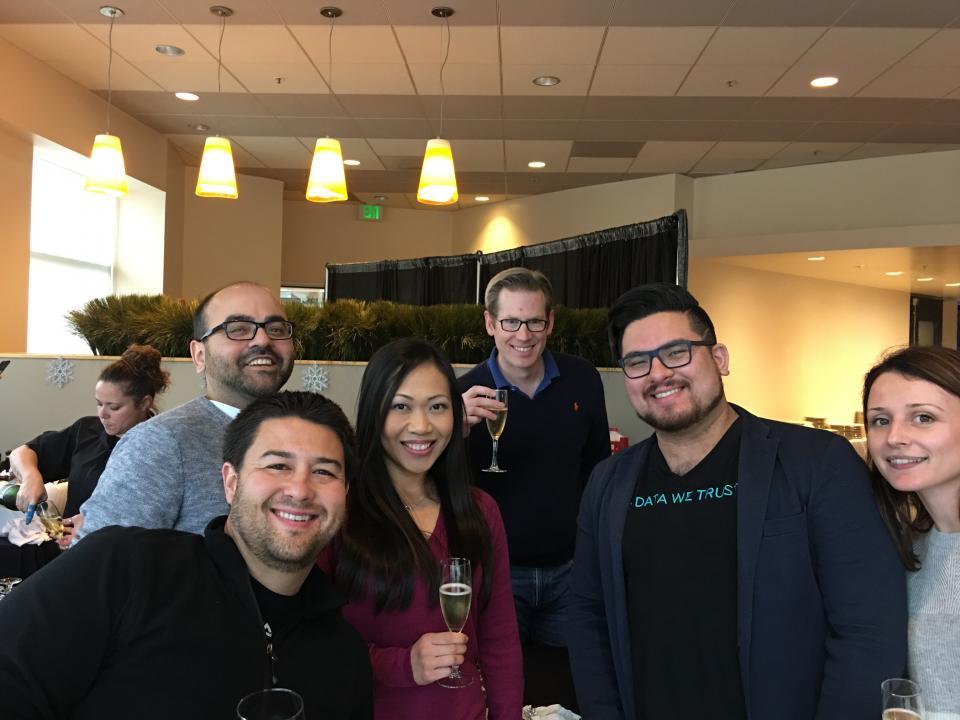Happy Hour at TIBCO's Palo Alto Office