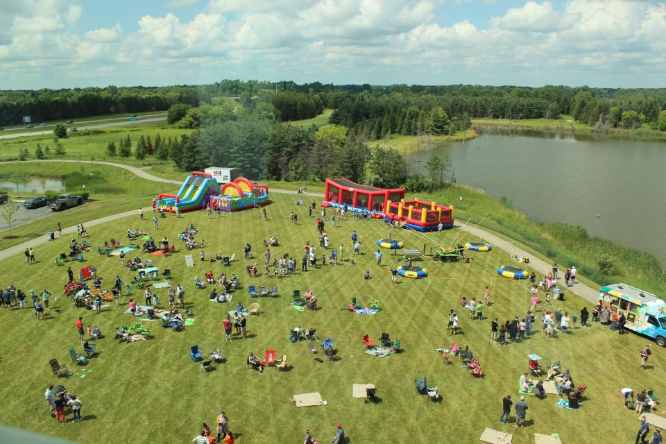 The view of our annual Summer Picnic
