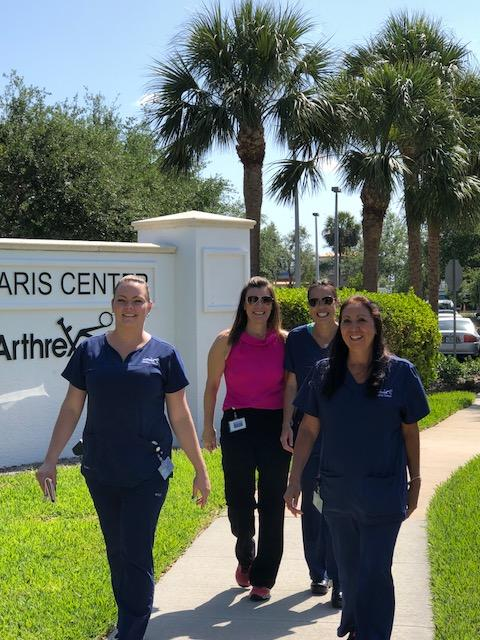 Arthrex celebrated the American Heart Association's Move More Month in April and asked employees to share photos of their favorite ways to stay active around campus.