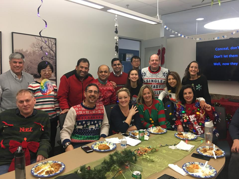 Holiday Ugly Sweater/Karoake Contest
