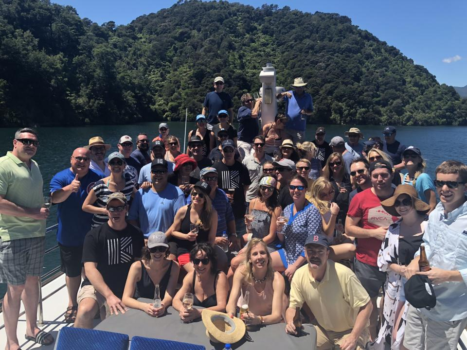 team building by boat