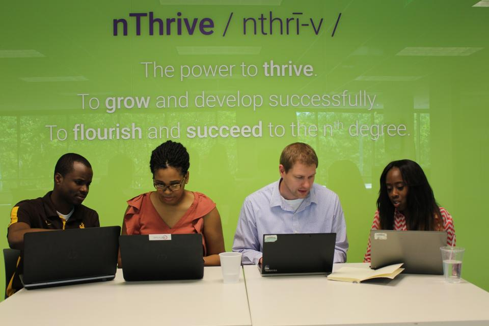 The power to thrive. To grow and develop successfully. To flourish and succeed to the nth degree.