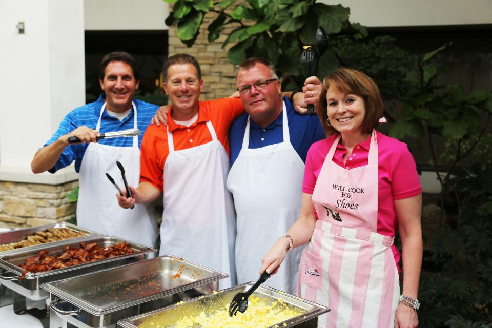 SECURA's VPs serve our annual United Way breakfast.