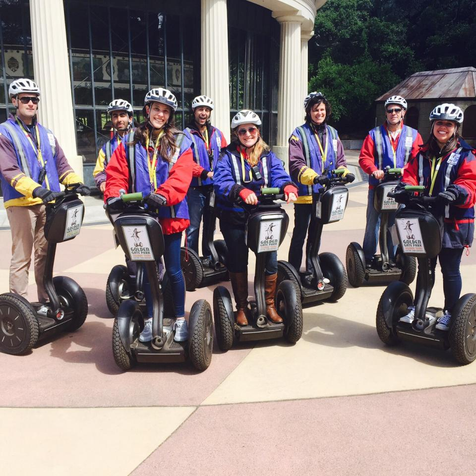 Segway tour around San Francisco!