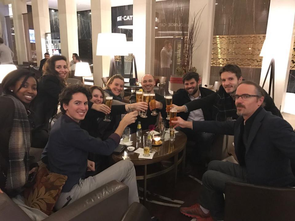 Blue Matter EU team dinner