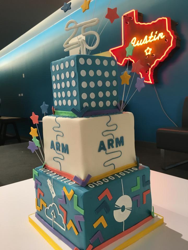 ARM 25th anniversary cake!