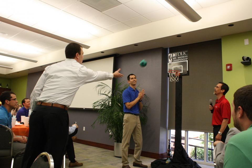 We had a blast competing in the 2nd annual company-wide mini-basketball tournament sponsored by our IT department.