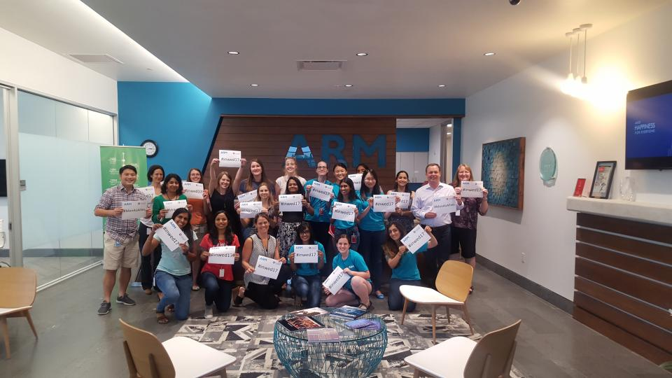 Arm Austin celebrating International Women in Engineering Day!
