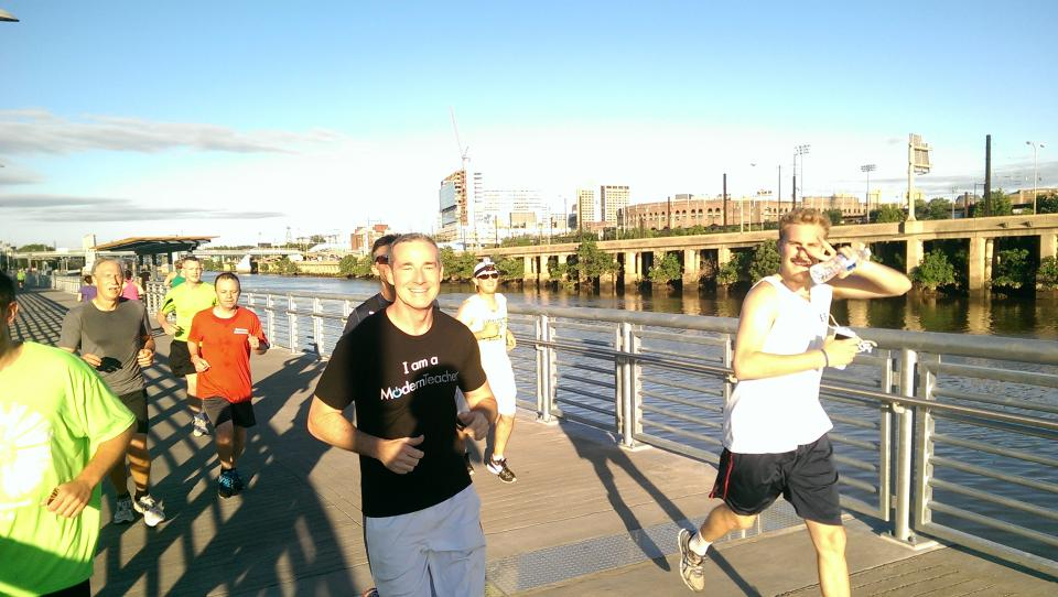 5K Run @ ISTE Conference 2015