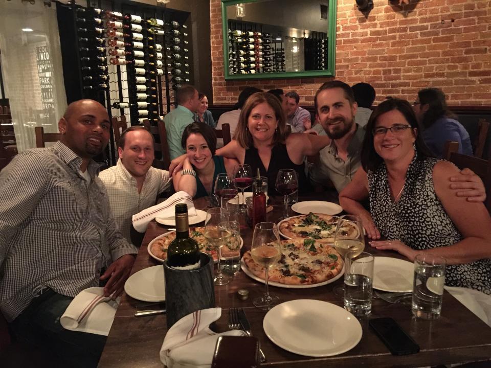 Team Dinner @ ISTE Conference 2016